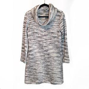 Ann Taylor LOFT Knit Turtleneck Sweater Dress